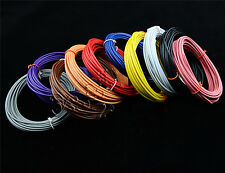 New Flexible 16AWG ~30AWG Stranded UL1007 Wire Cable Cord Hook-up DIY Electrical
