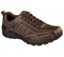 Skechers Men Relaxed Fit Superior - Bonical Comfort Shoes - BRN 64436