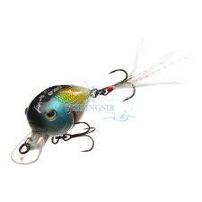 Floating Surface Water Shallow Diving Bass Fishing Lures Crankbaits Hooks Baits
