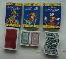 Selection Of Playing Cards By House of Marbles