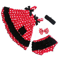Kids Baby Girls T Shirt Party Dress Shorts Pants Outfits &Sets Polka Dot Clothes