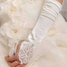 New Free Shipping White Wedding Accessories long Gloves YUO