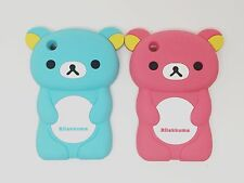 CUTE 3D BEAR SOFT RUBBER SILICONE PHONE CASE COVER FOR APPLE IPHONE 3 3GS