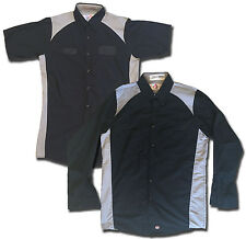 Red Kap Motorsports Shirt Technician Short and Long Sleeve Work Uniform Mechanic