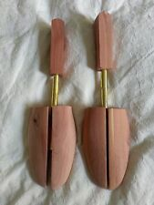Cedar Shoe Trees 1 PAIR! Wooden Rochester Sizes Small to 3 Extra Large