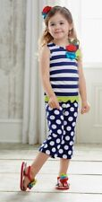 Mud Pie Boathouse Baby Tunic & Crop Leggings Two Piece Set