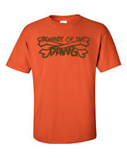 Beware of the DAWG Cleveland Browns  Pound Nation Football Men's Tee Shirt 986