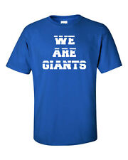 We Are Giants New York Giants Football NY Men's Tee Shirt 979