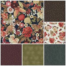 IMPERIAL GARDEN Metallic Collection by Paintbrush Studio for Fabri-Quilt, Inc.