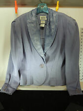 Women's Suit -- Jacket & Skirt in Violet size 12