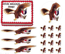 Eagle Scout Court of Honor Ceremony Eagle Fly Edible Cake Topper  - All Sizes!