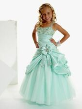 Girl Kid Pageant Dress Party Princess Ball Gown Dress Size 4-6-8-10-12 In Stock