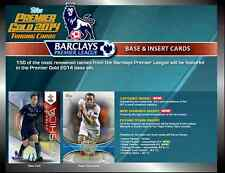 2014 TOPPS PREMIER GOLD EPL FOOTBALL/SOCCER BASE CARDS (1-53) CHOOSE PLAYERS