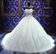 Noble A-line White/Ivory Wedding Dress Bridal Gown custom size 6-8-10-12-14-16++