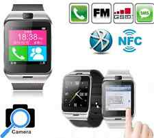 Waterproof NFC Bluetooth Smart Watch Sport Recorder Touch Screen With Camera Mo