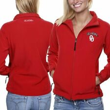 Oklahoma Sooners Women's Athena Full Zip Jacket - Crimson