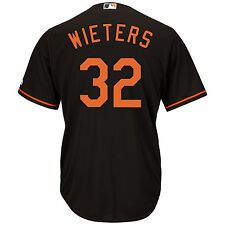 Matt Wieters Baltimore Orioles Majestic Official Cool Base Collection Jersey