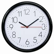 New Home Decor Simple Modern 10 Inches Round Large Non-Ticking Silent Wall Clock