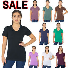 American Apparel BB301 TR301 Poly-Cotton Women's Tee T-Shirt - 1 DAY HANDLING