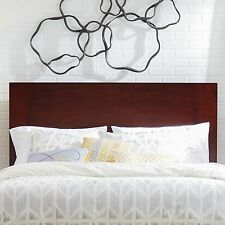 Mahogany Headboard Solid Wood Panel Design Quality Construction