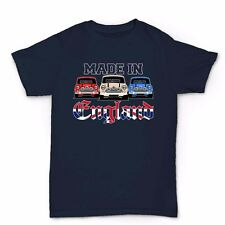 Classic Mini Car Made In England T Shirt - Mk1 2 Cooper Fathers Day Gift For Dad