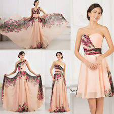 China Famous Flower Style Pageant Formal Wedding Gown Party Evening Prom Dresses