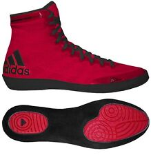 Adidas Adizero Varner MEN'S Wrestling Shoes, Red/Black S77931  NEW!