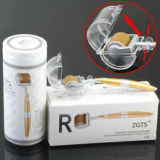 ZGTS Luxury Titanium Micro Needle Derma Roller Meso Roller For Acne Scar Freckle