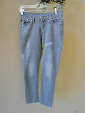 Rock & Republic Authentic Hamburg Gray Denim Jeans Junior Size 0  (28W x 24L)