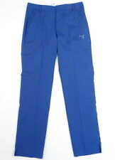 Puma Cell Dry Moisture Wicking Blue Golf Tech Pants Mens NWT