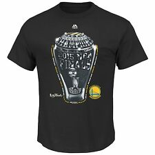 Golden State Warriors 2015 NBA Finals Champions Eyes On The Big Prize Tee -Black