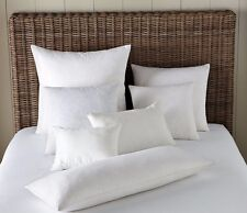 LUXURY!! Hotel Square Synthetic FAUX DOWN (alternative) Euro Pillow Insert Form