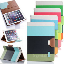 Folio Magnetic PU Leather Smart Cover Stand Case For Apple iPad Air 2 3 4 Mini