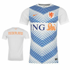 Nike Men's Holland Netherlands FIFA Soccer Pre Match Training Jersey 578787-101