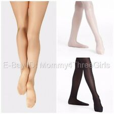 NEW Balera Capezio Danskin Shimmery Dance Skating Footed Tights Child & Adult