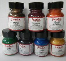 Angelus Leather Acrylic Paint 29.5ml Assorted Colours From A to P