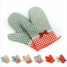 1pc Cute Kitchen Heat Resistant Glove Oven Pot Holder Baking Cooking Oven Mitts