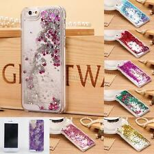 For iPhone 5 5S Dynamic Liquid Glitter Stars Bling Quicksand Hard Case Cover T98