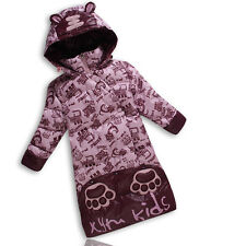Baby Cartoon 90%White Duck Down Warm Jacket Quilt Special Offer Nonsexual