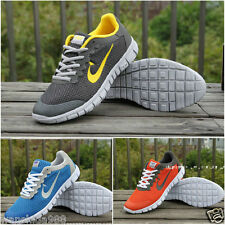 NEW RUNNING TRAINERS MEN'S WALKING SHOCK ABSORBING SPORTS FASHION SHOES SZ39-48