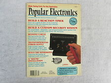 Popular Electronics - Back Issues Range From April, 1990 To August, 1999 * Box F