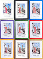 WOODEN PHOTO FRAMES WOOD PICTURE FRAME ALSO MULTIPACK FREE P&P