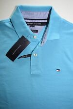 Tommy Hilfiger Short Sleeve CUSTOM FIT Mens Polo Shirt Retail at $49.50