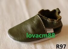 *R97 RUJI baby infant toddler adult man cow soft leather crib shoe slipper
