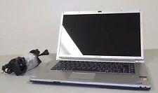 """Sony VAIO PCG-3F1L 16.4"""" Notebook Computer Intel CENTRINO 2 BLU RAY * FOR PARTS"""