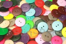 Standard Round Button 15mm/18mm Resin 2 holes sewing scrapbooking crafts DIY