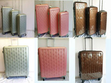 Hard Shell 4 Wheel Spinner Suitcase Luggage Trolley Case Cabin Carry On Handle