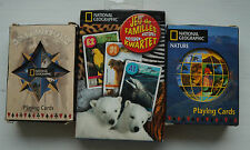 Selection of National Geographic Playing Cards & Happy Families