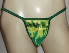 Mens GString Thong Micro front w/Diamond Back TIE DIE made in America 1 day ship