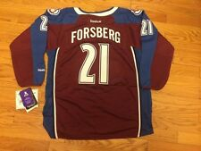 Peter Forsberg # 21 Reebok Colorado Avalanche Premier Stitched NHL Youth Jersey